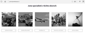 Screenshot z webu www.pomocposkozenym.cz