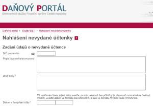 """Dnes již zrušená stránka, která si vysloužila přezdívku """"udavačský web"""""""